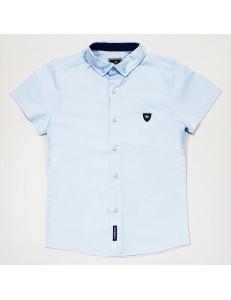 Рубашка для мальчиков с коротким рукавом голубого цвета Cegisa